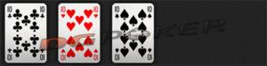 kombinasi kartu three of a kind