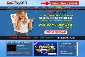 situs poker online terpercaya dgpoker