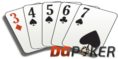 straight flush poker dgpoker